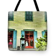 Cape May New Jersey City Scenic Tote Bag