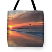 Cape May Nj Morning After The Storm Tote Bag