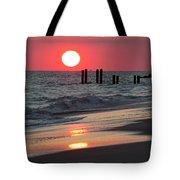 Cape May Nj Sunset, Philadelphia Beach Tote Bag