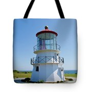 Cape Mendocino Lighthouse Tote Bag