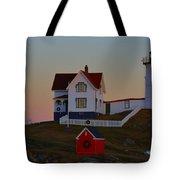 Cape Neddick Light Tote Bag