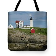 Cape Neddick Light Tote Bag