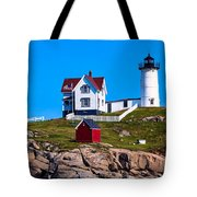 Cape Neddick Lighthouse Tote Bag