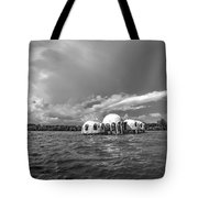 Cape Romano Bw Tote Bag