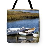 Cape Rowboats Tote Bag