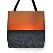 Cape San Blas Sunset Tote Bag
