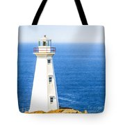 Cape Spear Lighthouse Tote Bag
