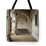 Capistrano Bench Tote Bag