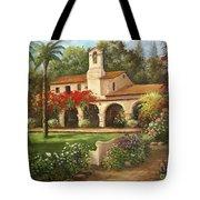 Capistrano Courtyard Tote Bag