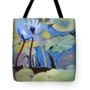 Capistrano Lillies Tote Bag