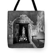 Capistrano Mission Statue Tote Bag