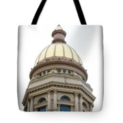 Capital Building Dome Cheyenne Wyoming Vertical 01 Tote Bag