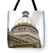 Capital Building Dome Cheyenne Wyoming Vertical 02 Tote Bag