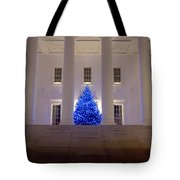 Capital In Blue Tote Bag