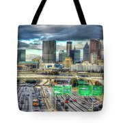 Capital Of The South Atlanta Skyline Cityscape Art Tote Bag