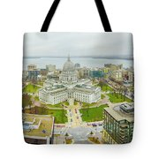 Capital Panoramic Tote Bag