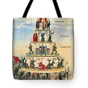 Capitalist Pyramid, 1911 Tote Bag by Granger