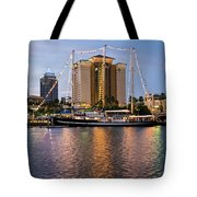 Capitan Miranda In Tampa Tote Bag