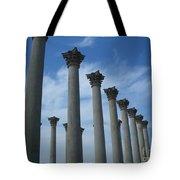 Capitol Columns Tote Bag