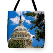 Capitol Of The United States Tote Bag