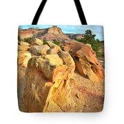 Capitol Reef Boulder Art Tote Bag