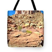 Capitol Reef Castle Tote Bag