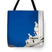 Capitol Statues - Madison Wisconsin-1 Tote Bag