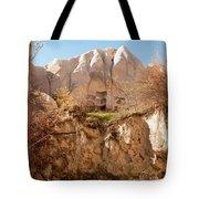 Cappadocia Dovecotes Tote Bag