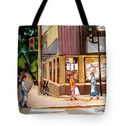Cappucino  Cafe At Beauty's Restaurant Tote Bag