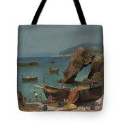 Capri Beach Tote Bag