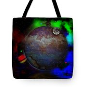 Caprica Over The Waters Tote Bag