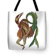 Capricorn Tote Bag by Barbara McConoughey