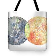 Capricorn Sagittarius Tote Bag
