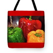 Capsicum In The Wash Tote Bag