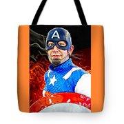 Captain America Super Hero Tote Bag