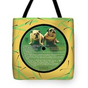 Captain And Tennille Greatest Hits Lp Label Tote Bag