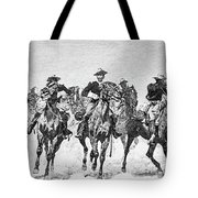 Captain Dodge's Troopers To The Rescue Tote Bag