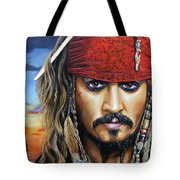 Captain Jack Tote Bag by Arie Van der Wijst