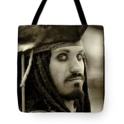 Captain Jack Sparrow Tote Bag by David Patterson