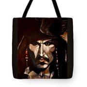 Captain Jack Sparrow Tote Bag