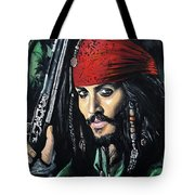 Captain Jack Sparrow Tote Bag