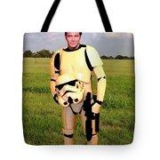 Captain James T Kirk Stormtrooper Tote Bag