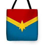 Captain Marvel Logo Tote Bag
