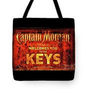 Captain Morgan Welcome Florida Keys Tote Bag