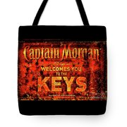 Captain Morgan The Florida Keys Tote Bag