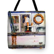 Captain Of The Lady Suzzy Q Tote Bag