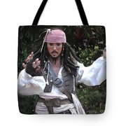 Captain Sparrow Tote Bag