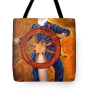 Captian Of The Dawn Tote Bag