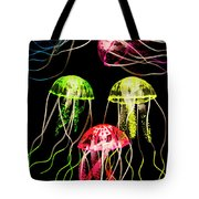 Captivating Connectivity Tote Bag