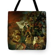 Capture Of Azov Tote Bag by Sir Robert Kerr Porter